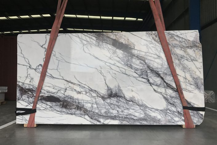 Slab of New York marble