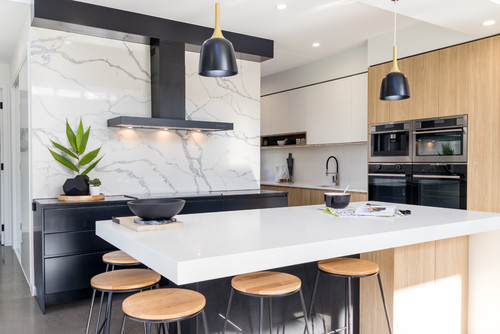 Photo of Dajaman Contemporary Kitchen by Christine Hill