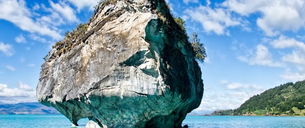 Blue Marble Caves Chile