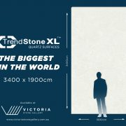 The biggest quartz slabs, Trendstone XL.