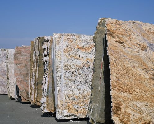 Granite Benchtops Slabs Row