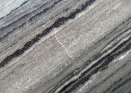 Natural stone imperfections in a quartzite