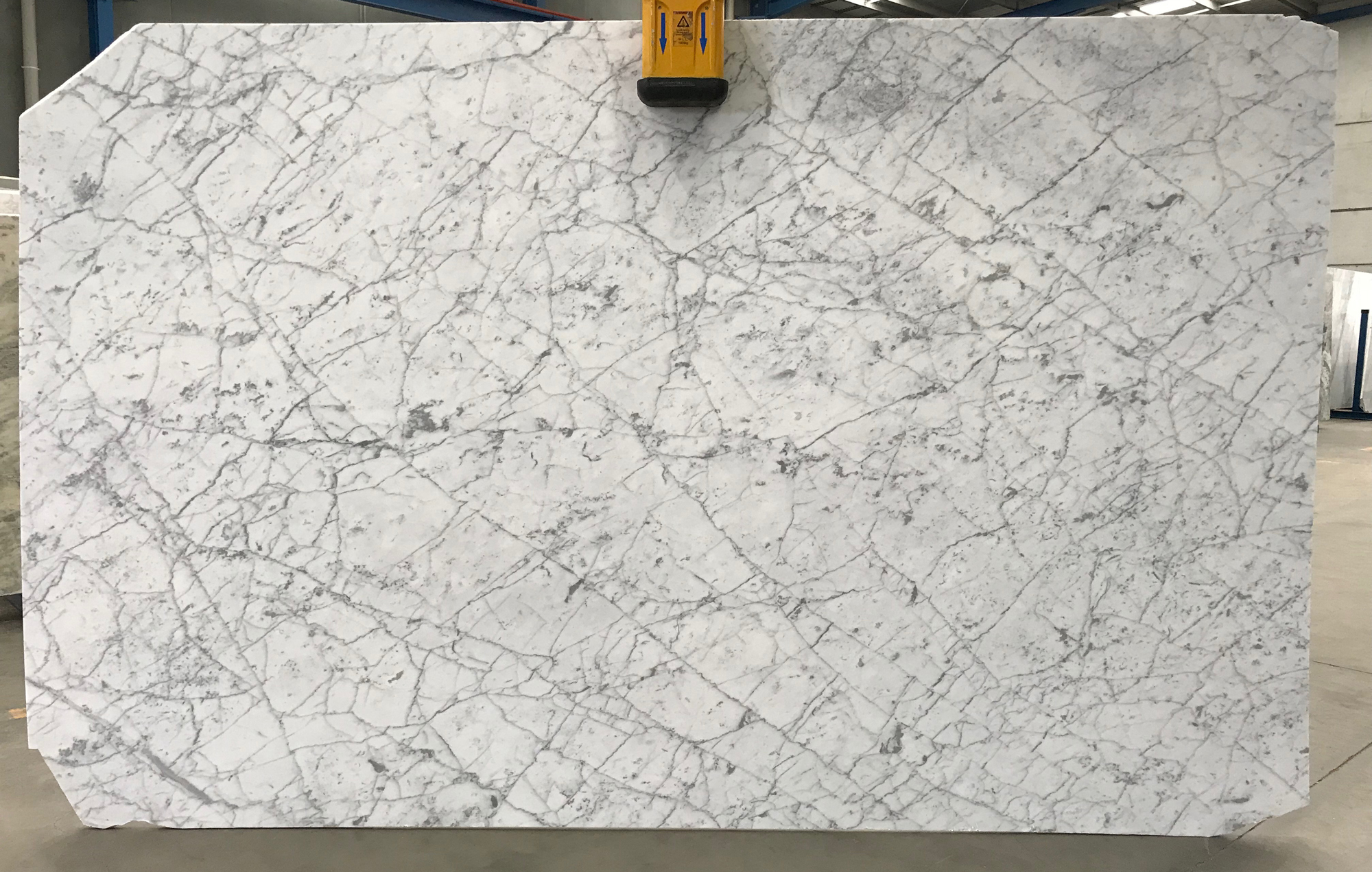 White and grey marble available at Victoria Stone Gallery