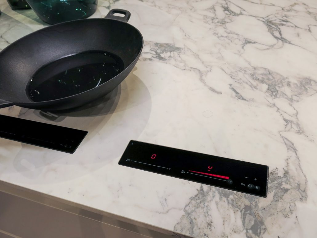 Binova's invisible Induction Cooktops