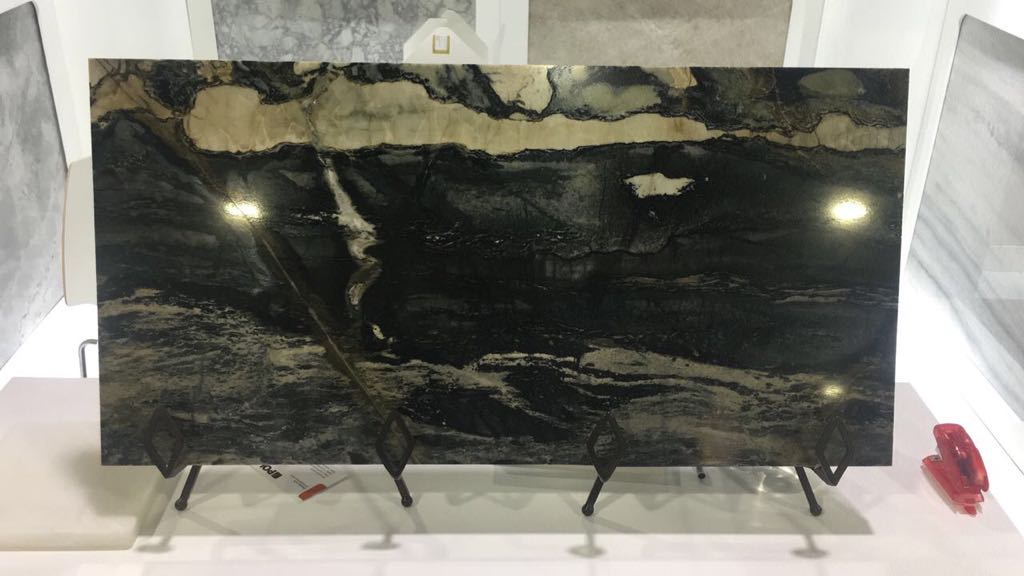 Nova Stone Brazilian Stone at Atlanta Trade Show