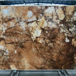 Crystallo Bronze Quartzite slab